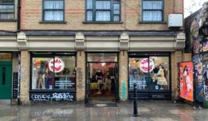 Rokit Vintage fashion store in Brick Lane, Shoreditch
